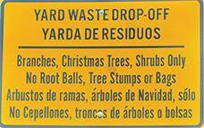 Yard Waste Drop Off